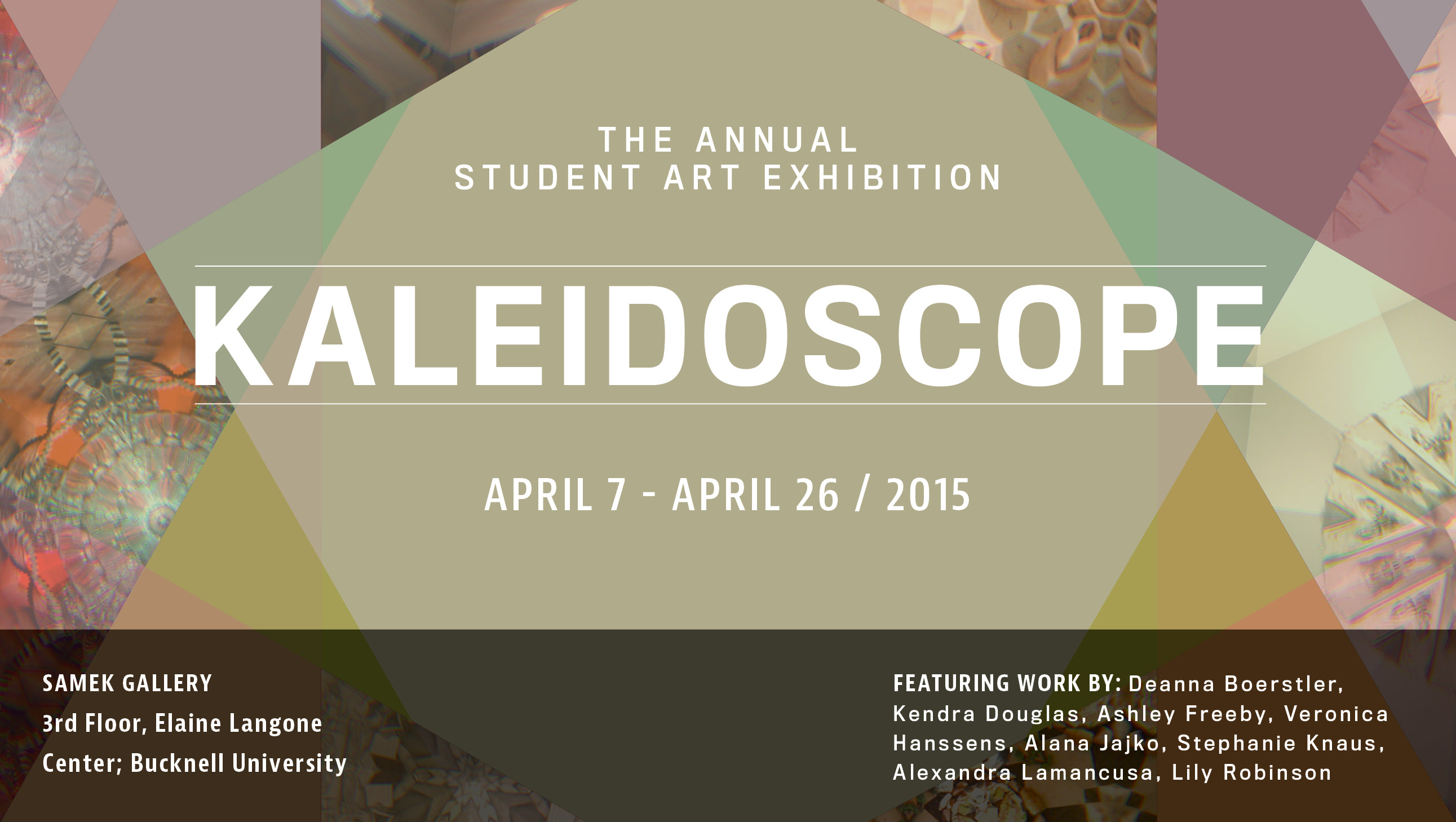 Kaleidoscope: Annual Senior Student Art Exhibition